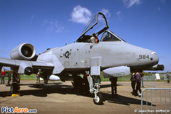 Fairchild Republic A-10A Thunderbolt II (United States - US Air Force (USAF))