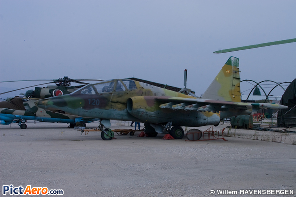 Sukhoi Su-25UB Frogfoot (Macedonia - Air Force)