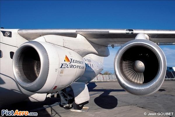 British Aerospace BAe 146-200 (Jersey European Airways)
