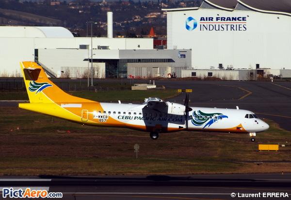 ATR 72-500 (ATR-72-212A) (Cebu Pacific Air)