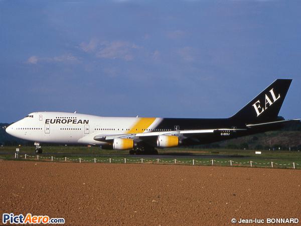 Boeing 747-236B (European Aviation Air Charter)