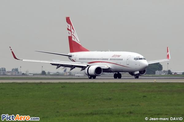 Boeing 737-7BK (Georgian Airways)