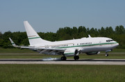 Boeing 737-7BH/WL(BBJ) (P4-ASL)