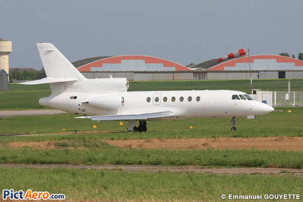 dassault falcon 50 f rafi france air force by emmanuel