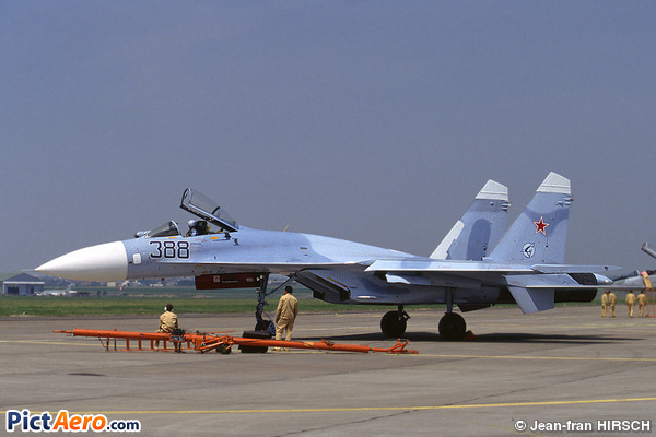 Sukhoi Su-27 (Russia - Air Force)
