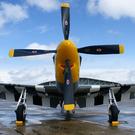 P-51 Mustang en exposition statique à Duxford