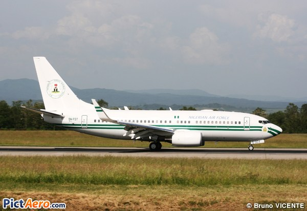 Boeing 737-7N6/BBJ (Nigeria - Air Force)