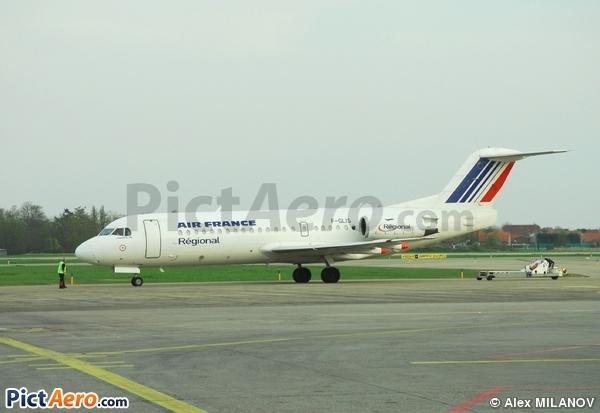 Fokker 70 (F-28-0070) (Régional Airlines)