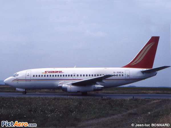 Boeing 737-204/Adv  (Sabre Airways)