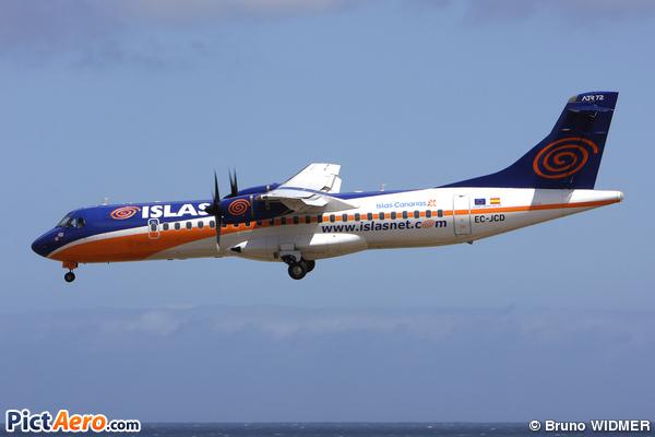ATR 72-202 (Islas Airways)