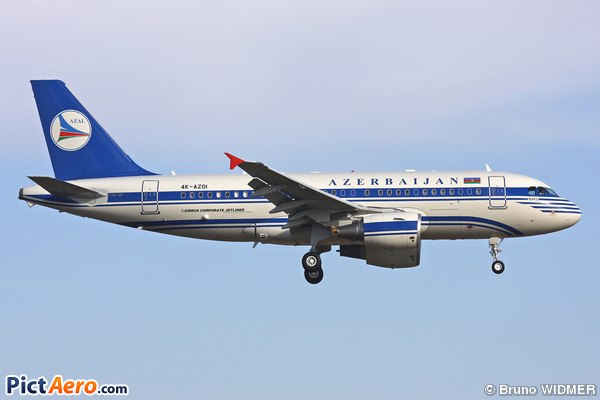 Airbus A319-112/CJ (Azerbaijan - Government)
