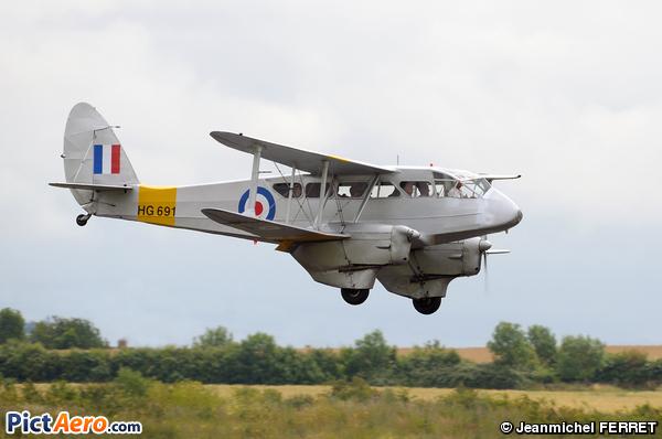 De Havilland DH-89A Dragon Rapide 6 (Spectrum Leisure)