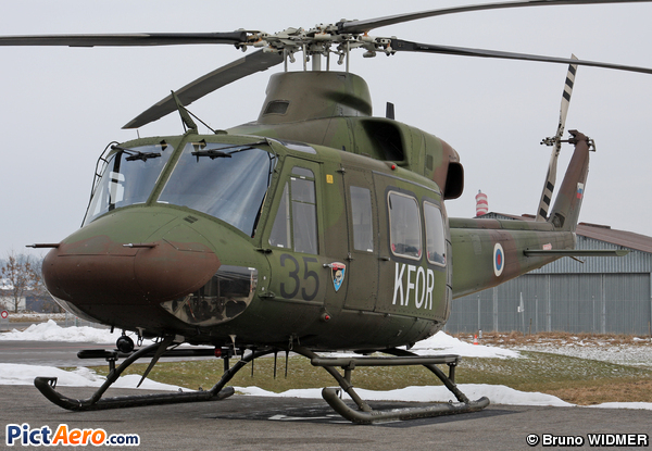 Bell 412 (Slovenia - Air Force)