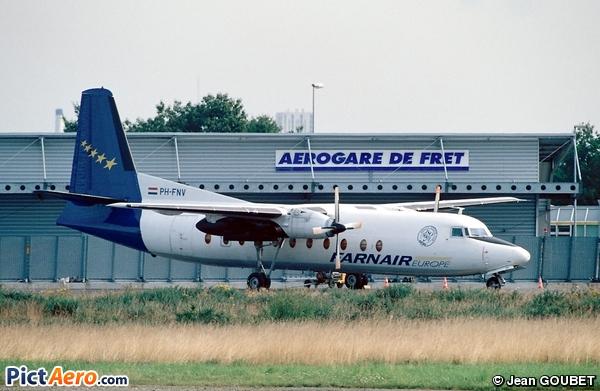Fokker F-27-500 Friendship (Farnair Netherlands)