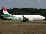 Boeing 737-8GJ (EY-777)