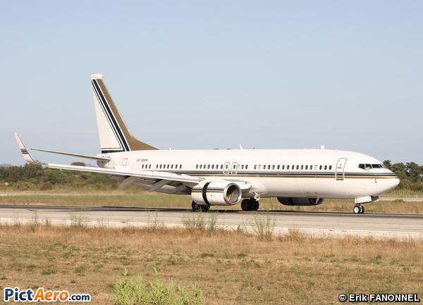 Boeing 737-8AN/BBJ2 (Saudi Oger)