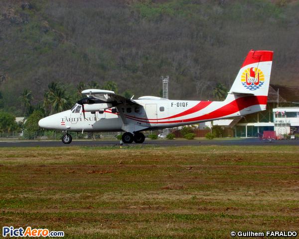 De Havilland Canada DHC-6-300 Twin Otter (France - Gouvernement de Polynésie Française)