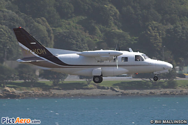 Mitsubishi MU-2B-30 (Helicopter Services (BOP) Ltd)