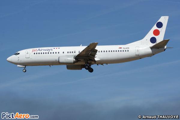 Boeing 737-4B7 (JAT Airways)