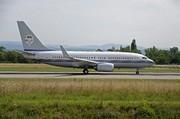 Boeing 737-7P3/BBJ (HZ-TAA)