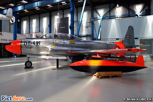 Lockheed T-33A Shooting Star (Denmark - Air Force)