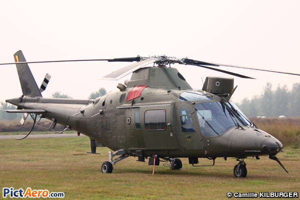 Agusta A-109HO (A-109BA) (Belgium - Air Force)