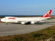 Boeing 747-4R7F/SCD (OO-CBD)