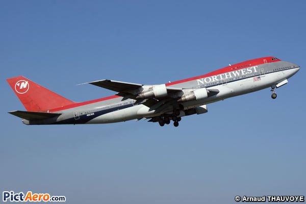 Boeing 747-251B (Northwest Airlines)