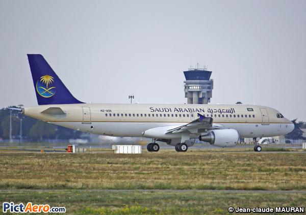 Saudi Airlines Airbus A320 Airbus A320-214 Saudi Arabian