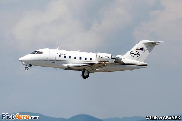 Canadair CL-600-2B16 Challenger 604 (Air Lazur. Sofia)