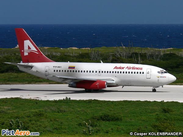 Boeing 737-2H4/Adv  (Avior Airlines)