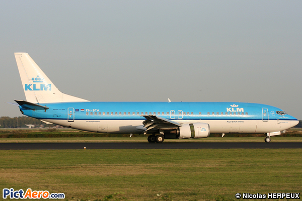 Boeing 737-406  (KLM Royal Dutch Airlines)