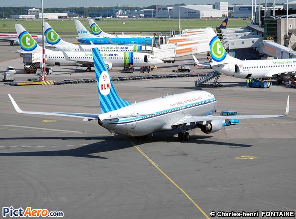 Boeing 737-8K2 (KLM Royal Dutch Airlines)