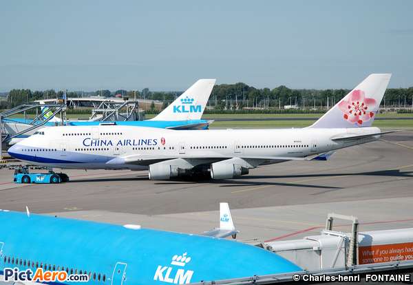 Boeing 747-409 (China Airlines)