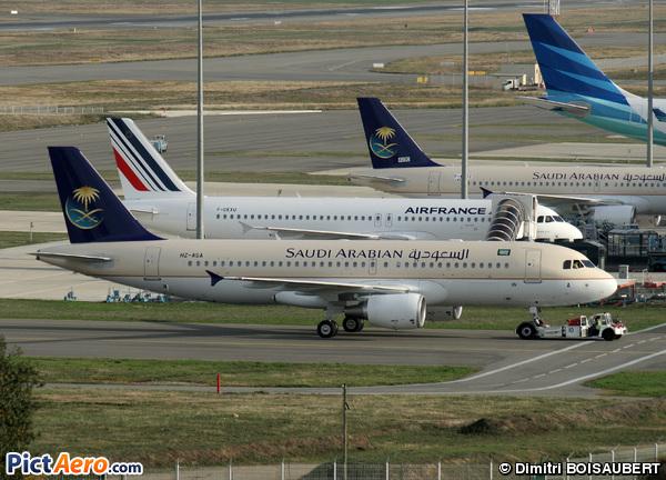Saudi Airlines Airbus A320 Airbus A320-216 Saudi Arabian