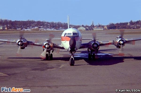 Douglas DC-7B (Transair Sweden)