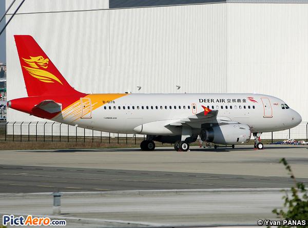 Airbus A319-132 (Deer Air)