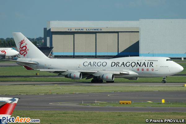 Boeing 747-412/BCF (Dragonair Cargo)