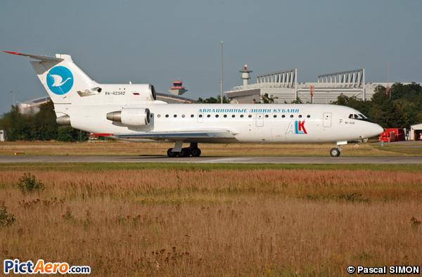 Yakovlev Yak-42D (Kuban Airlines (ALK))