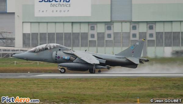 British Aerospace  Harrier T12 (Royal Air Force)