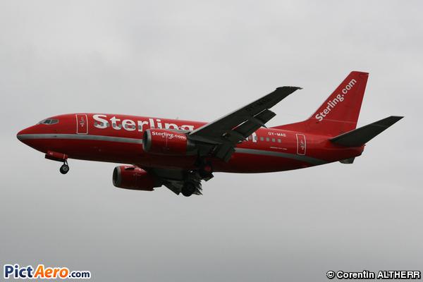 Boeing 737-505 (Sterling European Airlines)