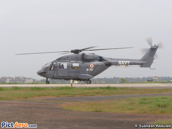 Hindustan ALH Advanced Light Helicopter (Druhv) (India - Navy)
