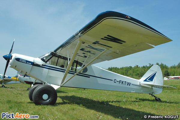 Piper PA-18A-150 Super Cub (Privé)