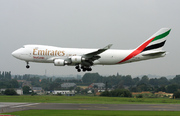 Boeing 747-4HA/ER/F (OO-THD)
