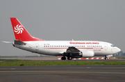 Boeing 737-529 (4L-TGA)