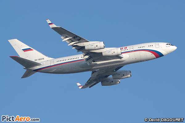 Iliouchine Il-96-300PU (Rossiya Russian Airlines)