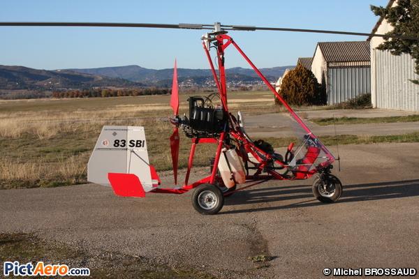 Debiazi DG01 Gyrocopter (Privé)