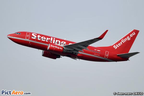 Boeing 737-7L9 (Sterling European Airlines)