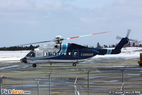 Sikorsky S-92 Helibus (Cougar Helicopters)