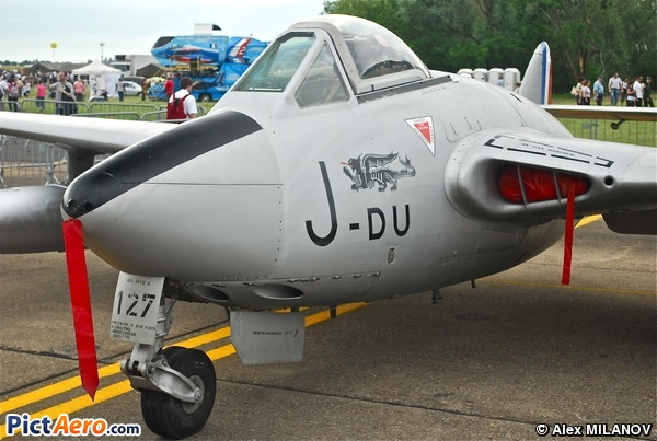 De Havilland Vampire FB.6 (DH-100) (FIOCCONI PATRICE)